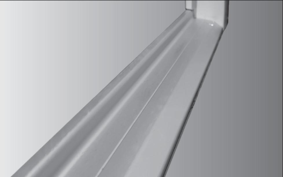 Aluminium threshold