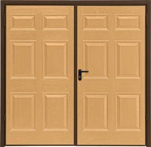 GRP Panel side hinged doors