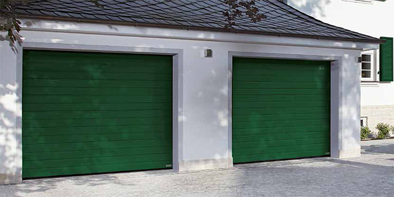 S Ribbed Sectional Garage Doors