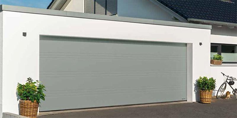 T Ribbed Sectional Garage Door
